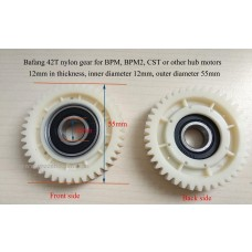 Bafang hub motor nylon/plastic gears for  repair/replacement(42T/36T/28T)