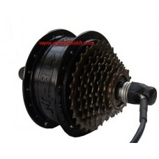 Bafang SWXH 36V 250W hub motor in black color