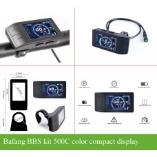 Bafang BBS mini color display 500C