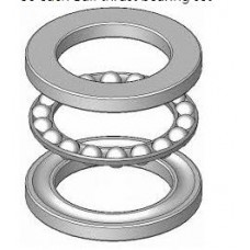 Bafang bbs01B bbs02B kit replacement thrust ball bearings