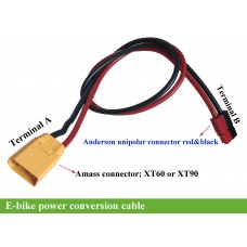 Bafang BBS01 BBS02 BBSHD power cable for extension or conversion