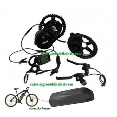 Bafang BBS01B 36V250W  kit and 36V Hailong 01 downtube battery