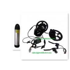 Bafang bbs mid crank kit 36V250W with 36V bottle  battery