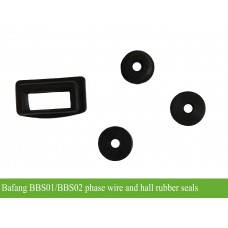 Bafang BBS01/BBS02 motor hall wire and phase wire rubber seals