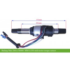 Bafang Max drive MM M400 G330 axle with torque sensor(New arrival)