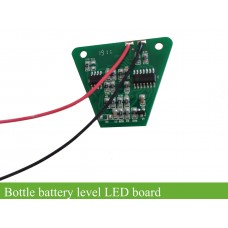 BMS or battery level LED board for ebike lithium bottle batteries