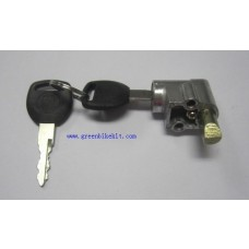 Key lock for  electric bike lithium bottle battery