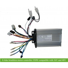 CON931 e-bike 350W controller compatible with 36V/48V