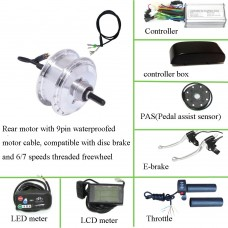 36V/24V 250W ebike rear motor(GBK-100R) kit