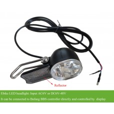 ebike 6V-48V LED headlight suitable for bafang BBS