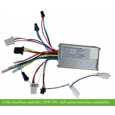 24Volts 250watts 6mosfets e-bike controller(CON611) for bldc hub motors