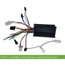 36Volts 250watts 6mosfets controller(CON611) for e-bikes bldc hub motors