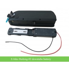 48V high capacity E-bike down tube battery Hailong-2(HL-2) with 5V USB port