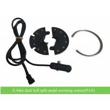 e-bike 12 poles dual hall pedelec sensor-split sensor(PAS) for easy installation