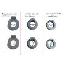 E-bike brushless hub motor anti-torque washers