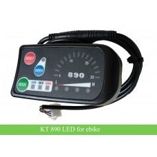 KT 890 LED meter display for 24V/36V/48V e-bike