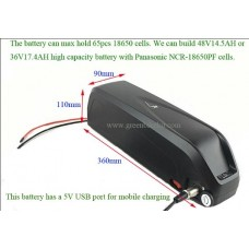 Battery case Hailong-2 for diy ebike downtube battery building(HL-2)