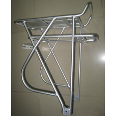 Rear Rack for electric bicycle lithium battery,  double layer rack for e-bike