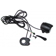 Wuxing LED e-bike headlight / horn with two in one switch