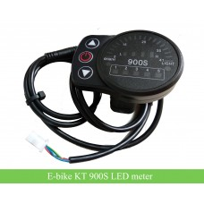 KT 900S LED meter 24V 36V 48V for e-bikes