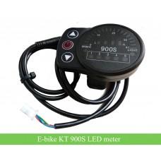 KT 900S LED meter 24V 36V 48V for e-bikes