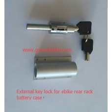 Key lock/ Key set for lithium rear rack battery case
