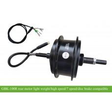 GBK-100R rear hub motor 36V250W sensor/sensorless