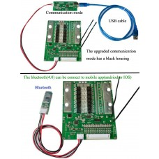 PCM/BMS for 20S~30S LiFePO4 or LI-ION battery with bluetooth