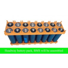 48V 10AH Headway 38120 battery pack