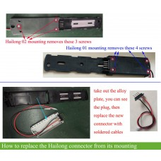 Hailong casing battery power cable