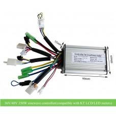 36V 48V 350W KT sinewave controller, compatible with KT LCD display /LED
