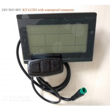 Ebike 24v 36v 48v Intelligent Black Kt Lcd8s Ktlcd8s Control Panel Lcd Display Electric Bicycle Bike Parts For Kt Controller Atv,rv,boat & Other Vehicle