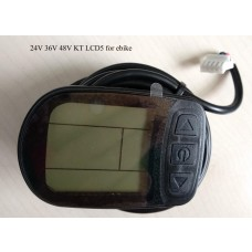 KT/kunteng LCD5 display for 24V 36V 48V E bikes
