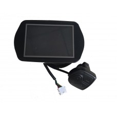 KT LCD8YNU color display 24V/36V/48V with 5V USB output for mobile charging