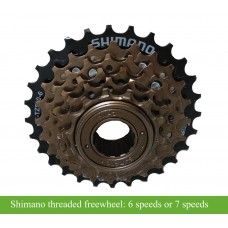 E bike threaded Freewheel, 6 speed and 7 speed for electric bike and motorcycle