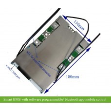 Smart PCM/BMS for 20S~30S battery with software/app programing