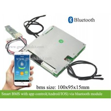 Lithium smart PCM/BMS for 16S-20S with pc program software or bluetooth App control