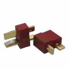 One pair of T-shape connector for electronic usage