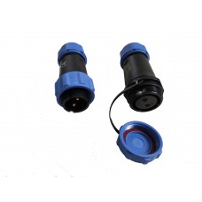 Waterproof aviation airplug for rc or ebike power