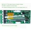 36V lithium ion BMS for ebike dolphin battery with 5V USB output