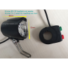 Wuxing LED e-bike headlight and horn with two in one switch