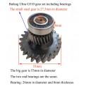 Bafang-ultra-M620-g510-bearing-gear-set-for-repair