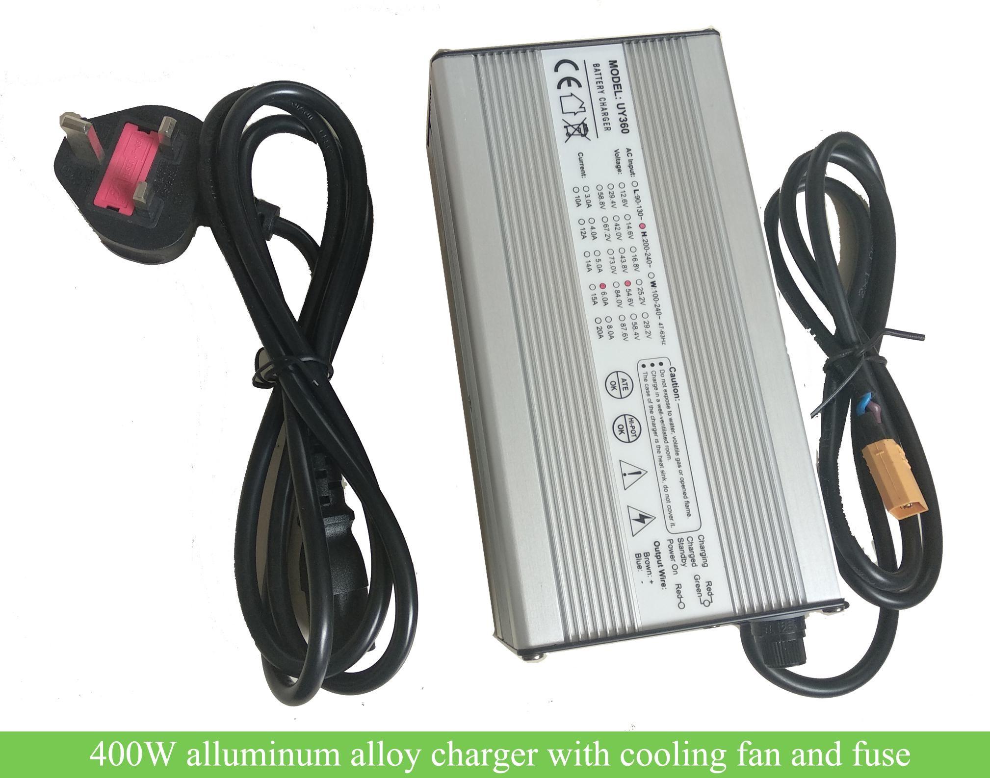 24V Li Battery Charger for Electromobile Electric Bicycle 90V-240V EU Plug