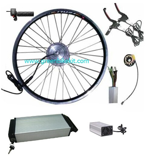 36V250W front driving electric bike kit with 36V 11 6AH