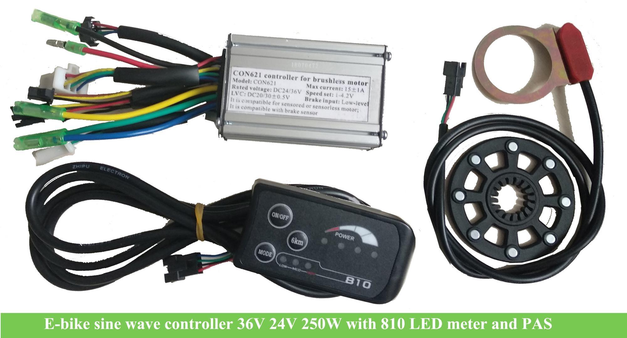 PROGRAMMABLE E BIKE ELECTRIC BRUSHLESS MOTOR CONTROLLER